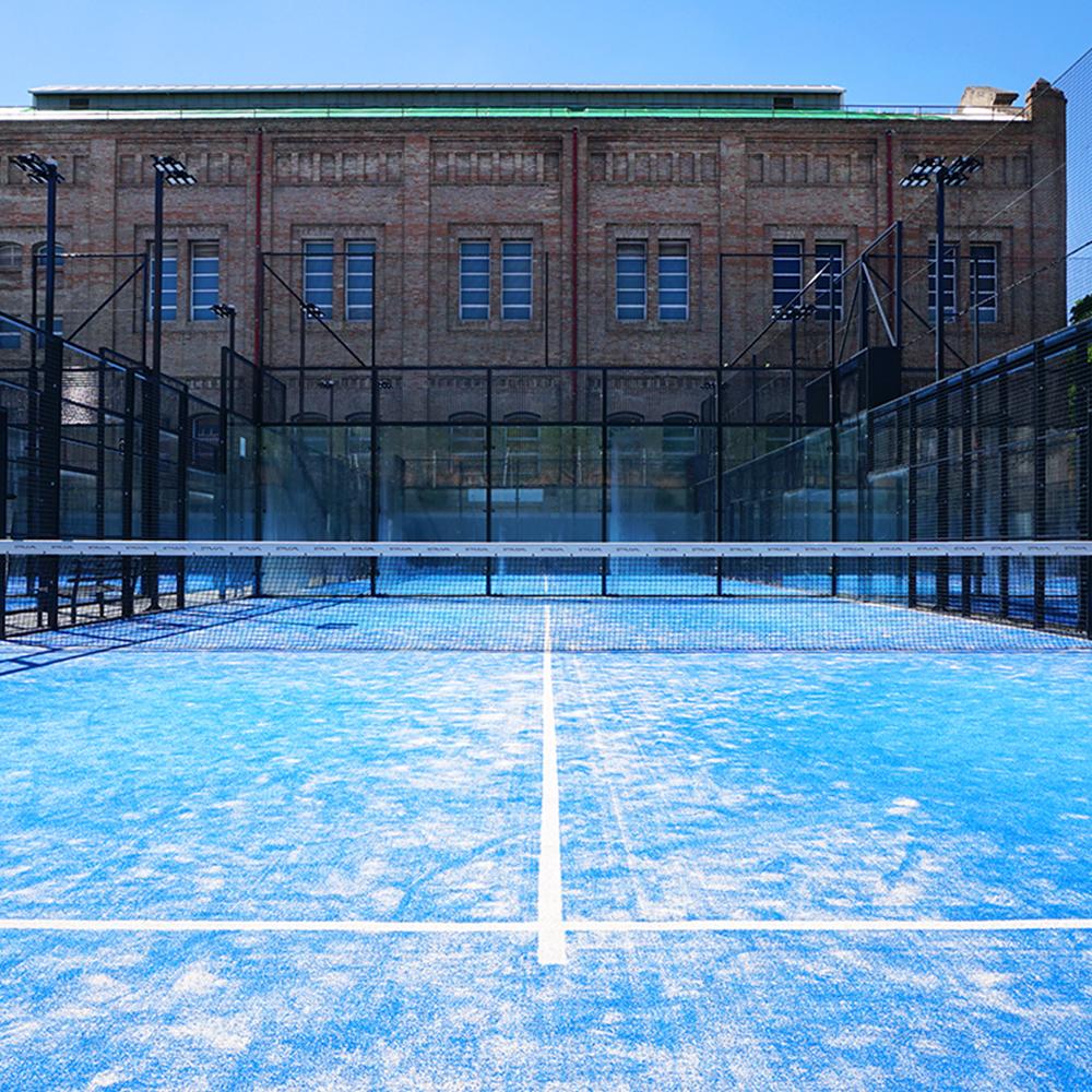 Galisport gimnasio en sevilla pistas de p del y for Piscinas picornell padel